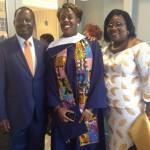 Exclusive: Prime Minister Raila With Mama Ida At Winnie Odinga's Graduation- Drexel University