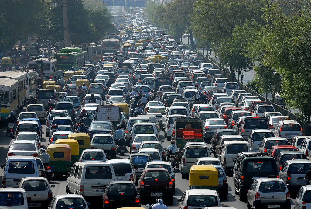 Opinion: Traffic Jam in Nairobi Have a Human Hand!