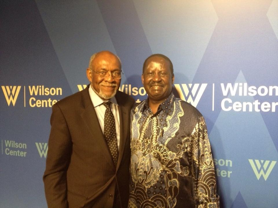 Amazing: Raila Odinga's Presentation At Wilson Centre, Washington DC (Full Speech+ Q&A)