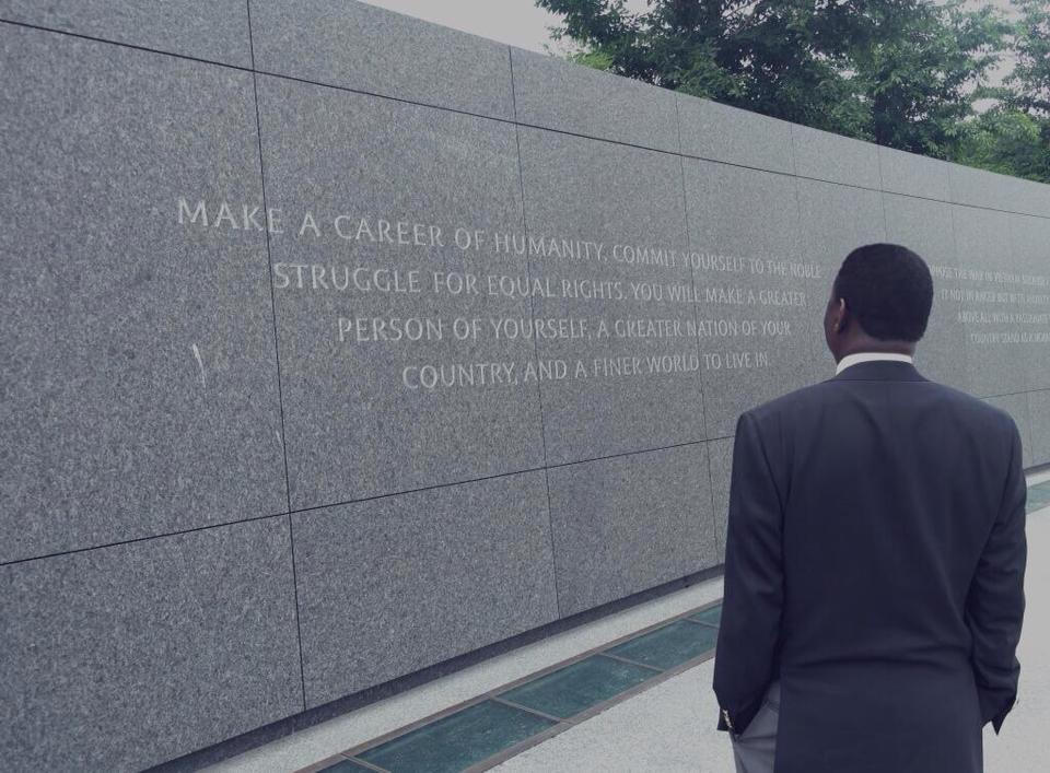 Prime Minister Raila Odinga Reconciles His Tribulations At Dr King's Memorial In Washington DC