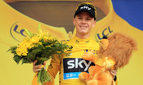 Chris Froome: the long ride from Kenya to the Champs-Élysées