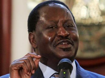 POLITICAL DUTY: ODINGA heads to Baringo, Mourns Journalist Sir David Frost