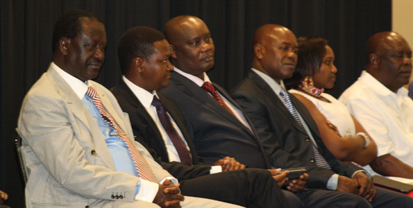 Raila Opens Governors Summit