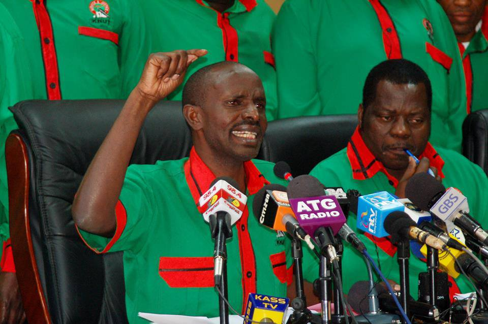 Is KNUT's Wilson Sossion A Problem For William Ruto?
