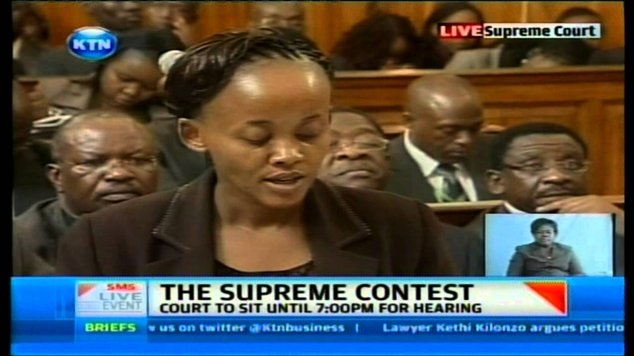 LIVE At The High Court- People's Senator Kethi Kilonzo  Vs IEBC