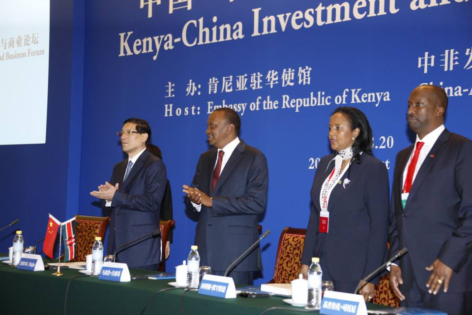 Revealed: How President Kenyatta was entangled in Chaotic Dinner Party in China