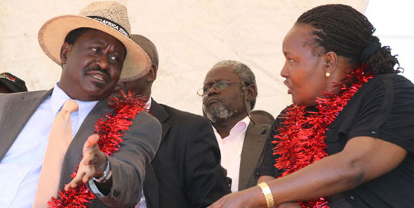 RAILA ODINGA heads To North Rift, To Be Hosted By Joshua Sang And Cherengany MP Hon. Korir Among Other Local Leaders