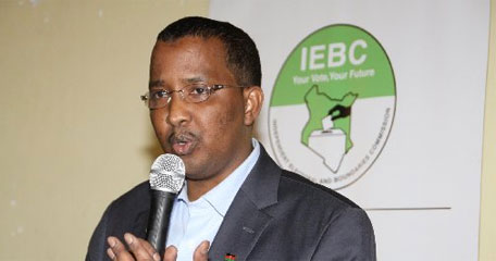Oswago Confirms IEBC Chairman Is Well In The Office Discharging His duties