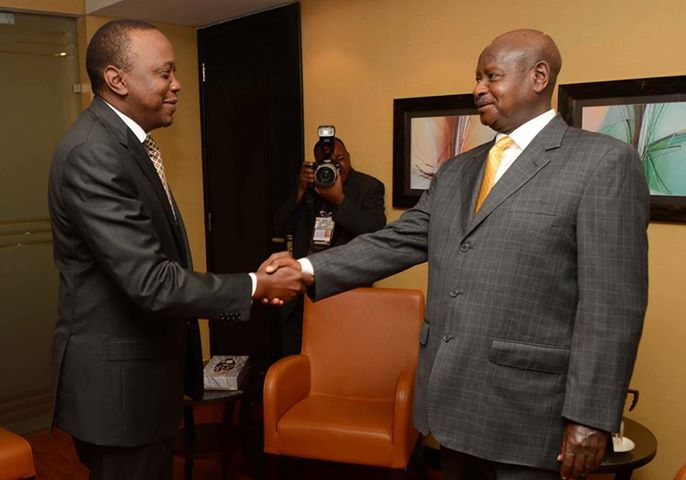 "Revealed: Uhuru ""Lectured"" By Museveni On Mistreating Raila, Told To Respect PM Odinga"