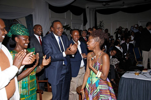 Uhuru Branded a Socialite After Attending Miss Karun's Exclusive Party