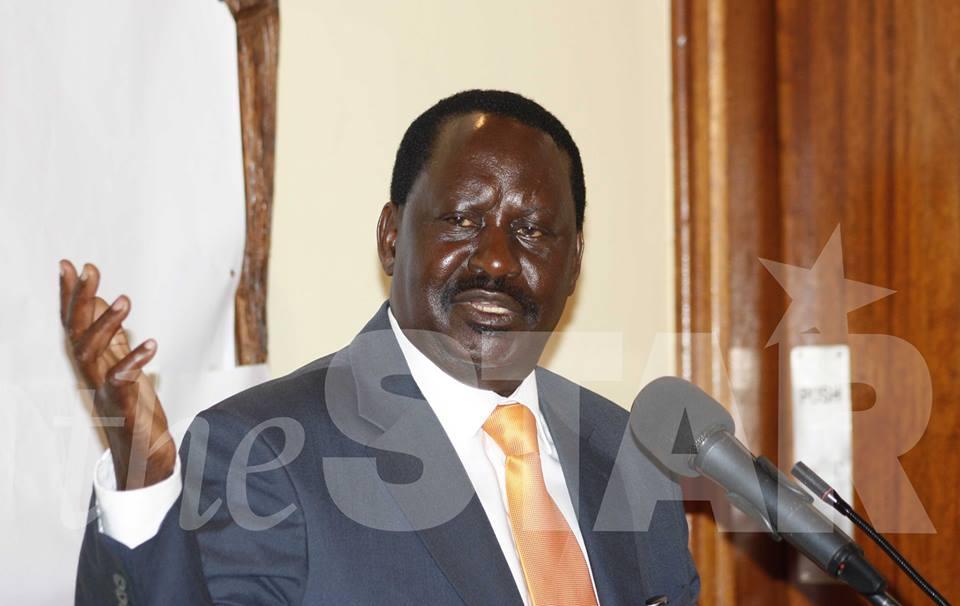 Revealed: What Raila Odinga Told Lawyers In Mombasa