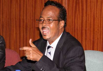 Hon Adan Keynan Confirms His Ignorance On The Sigficance Of The National Flag And What It Means To Kenyans