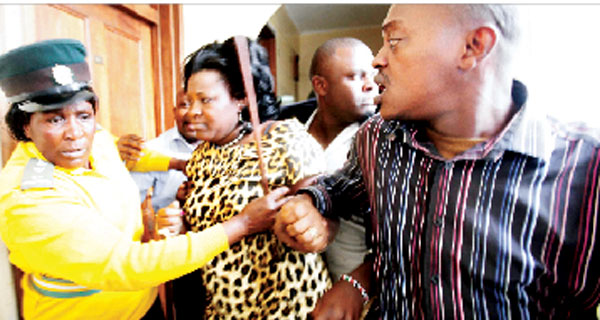 SHOCK: Shebesh Hit Kidero Under The Belt Before The Alleged SLAP
