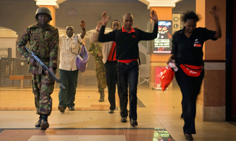 The Westigate Shopping Mall siege: 'final assault' begins
