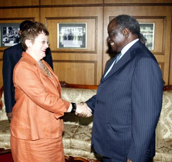 BREAKING NEWS: TANZANIA REJECTS outgoing GERMAN ambassador to Kenya