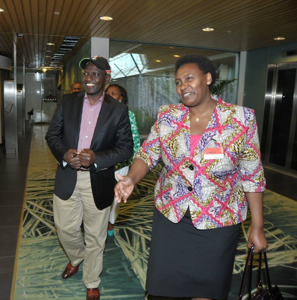 Kenya's AMBASSADOR to Netherlands ROSE MAKENA EMBARRASSED Self, Set to return home