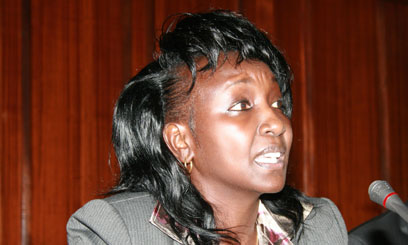 Hon Gladys Shollei proposes to increase number of MPs