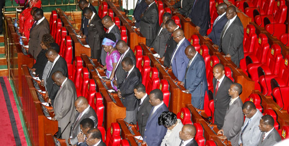 MPs sing Uhuru's tune as banks win in interest cap rate