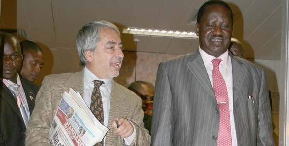 Raila's PR Machine-SALIM LONE Leaves Kenya for US as citizen