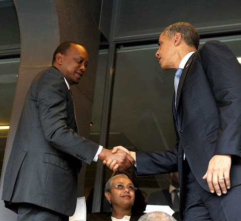 Revealed: How Uhuru was stranded in a hotel and the chance to shake hands with Obama