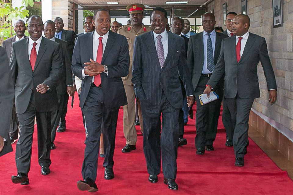 Revealed: Raila Odinga's Role in Infrastructure Development That Uhuru Found Hard To Ignore