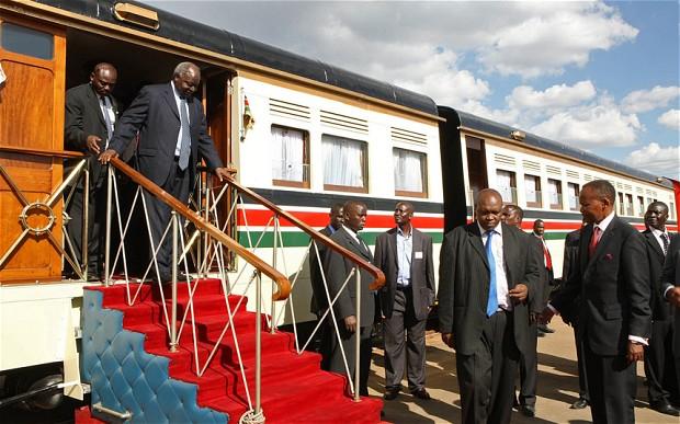 "Shocking: How Kibaki's Men ""ate"" the Std Railway Gauge tender Billions"
