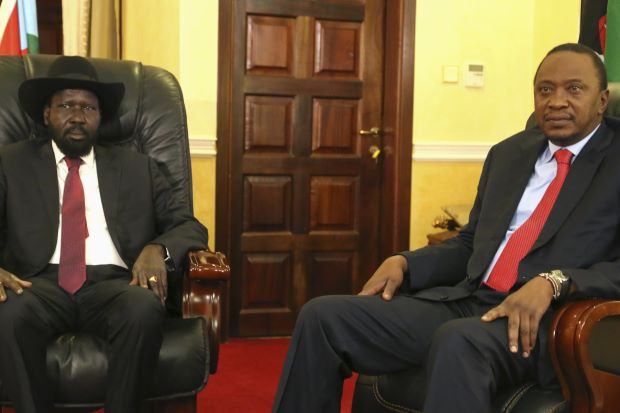 BOTCHED: IGAD Declares Support for Kiir, accuses Riek Machar of power greed
