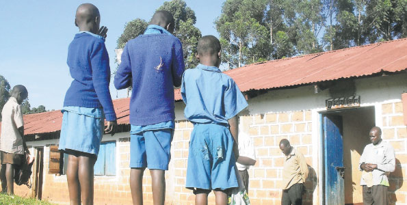 Mean Grade: KCPE 2013 TOP 10 COUNTIES