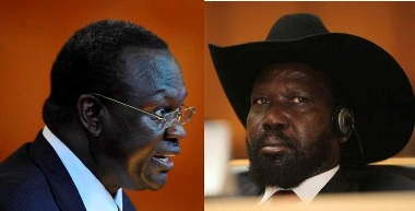 Riek Lambasts Kiir over Coup, says President in office illegally
