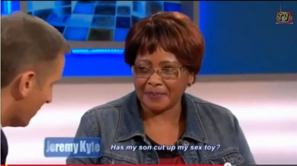 SHOCKING: Nyeri Woman accuses son (on British TV) of DESTROYING her SEX toys