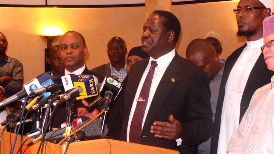 Raila Odinga: The Uhuru Kenyatta government has failed Kenyans