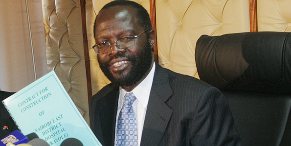 Prof Anyang' Nyong'o Bows out of race to defend his ODM Secretary General Seat.