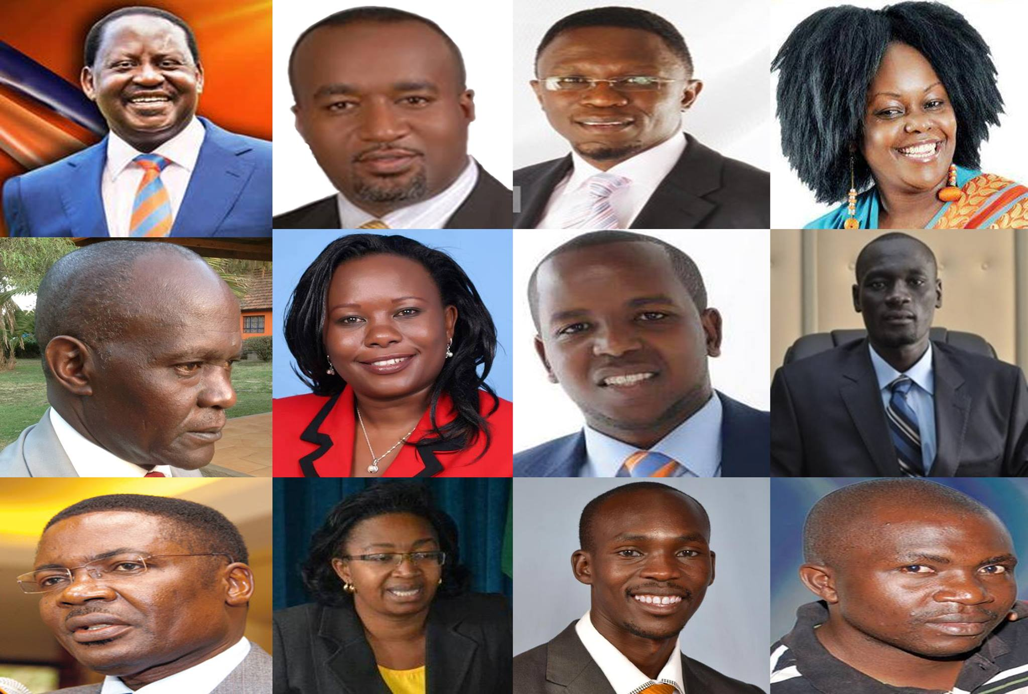 ODM POLLS: Notable old and new faces already in the race