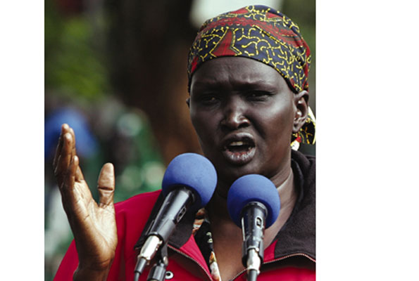 "Rebecca Garang: Sending of Ugandan troops to South Sudan was an ""invasion"""