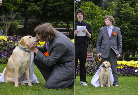 SHOCK: California Allows First-Ever State Recognized MAN-DOG Marriage !