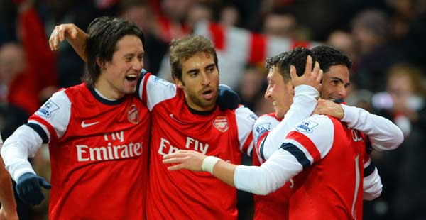 Arsenal still not credible EPL challengers Despite of victory at Villa.