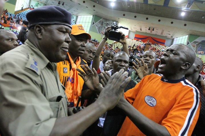 ODM boss SAYS 'Men in Black' who caused Chaos Yesterday were Mayor Aladwa's boys!