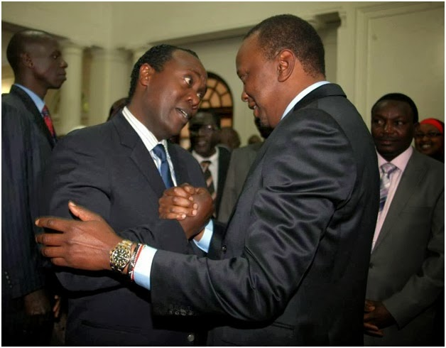 Etale Vs Wambugu another of Jeff Koinange Interviews meant to cover the NAKED Uhuru!