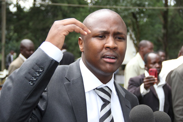 WHERE is  Hon. Alfred Keter, THREATENED to silence? or he was just a TEST-TUBE anti-corruption crusader?
