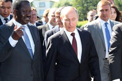 What Raila FAILED to learn from Vladimir Putin-Russia STRONG MAN!