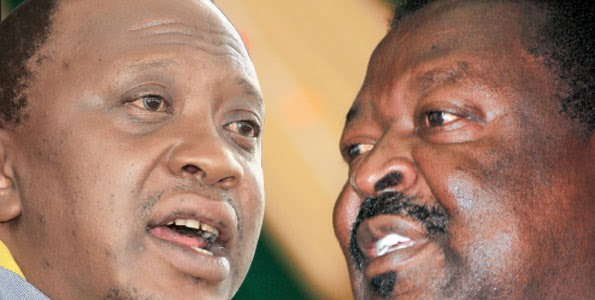 Mudavadi CRITICISES Uhuru SPEECH terms it 'CRAP', says government is TRIBAL and Corrupt ! wow, tiny BALLS emerging?