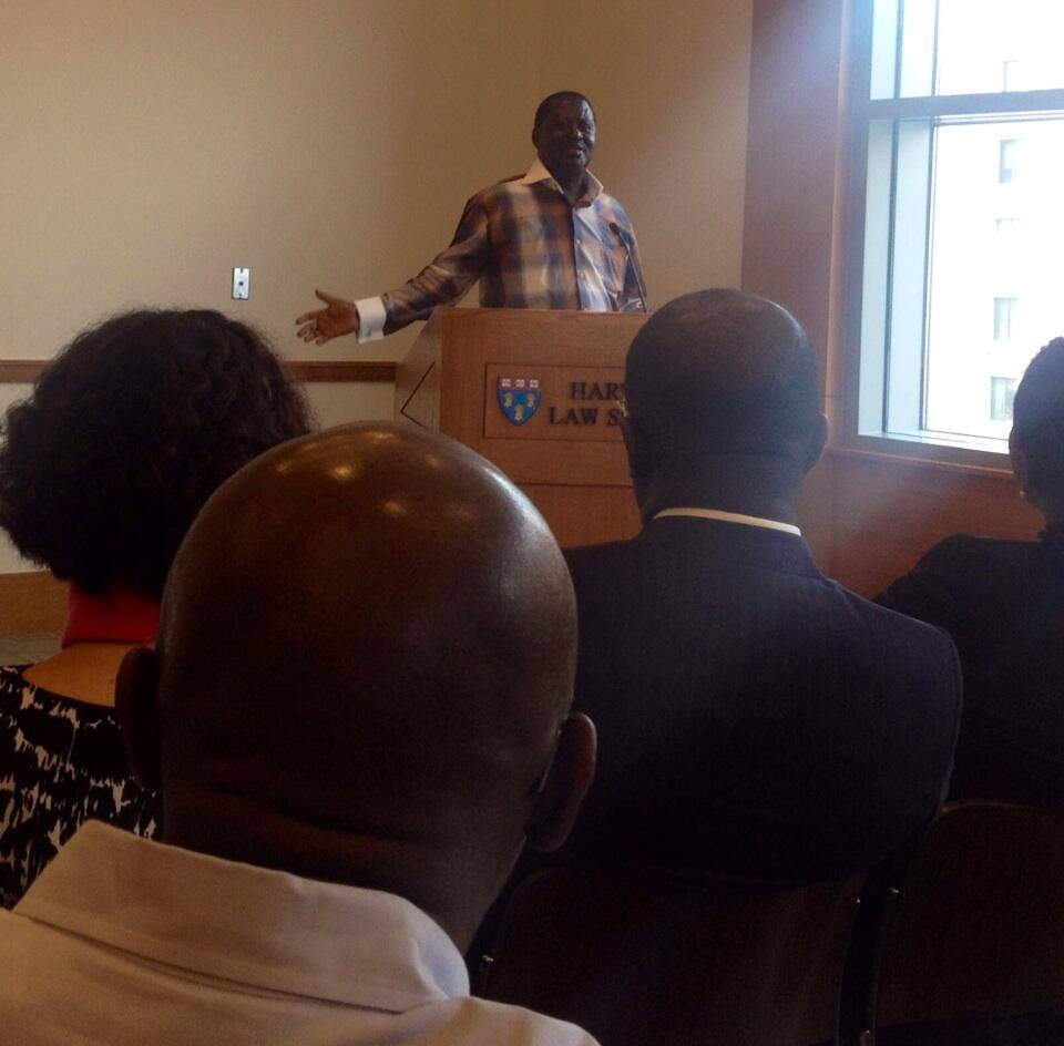 Premier Raila Odinga WOWS HARVARD University students and Professors by telling it like it is !