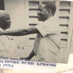 AMAZING photo of Raila Odinga meeting Mzee Jaramogi after he was freed from DETENTION  in 1992, GoD Bless RAO