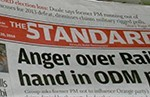 SHOCK: NATION, Standard Newspapers to lay off journalists till Raila returns!!!!