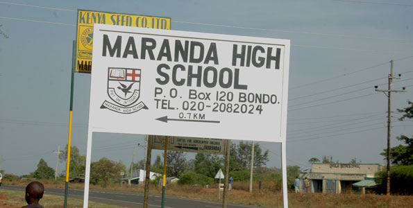 Amazing: Maranda School results dwarfs Alliance, Maseno