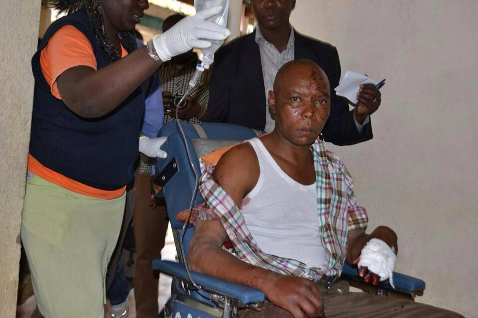 Mungiki Leader Maina Njenga narrowly escapes assassination, 4 bodyguards shot dead