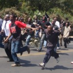 SHOCKING: Police STORMED University of Nairobi Library and ARRESTED INNOCENT students