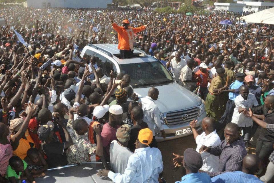 REVEALED: How Uhuru SAVED his Presidency by allowing Raila's HOMECOMING rally to proceed