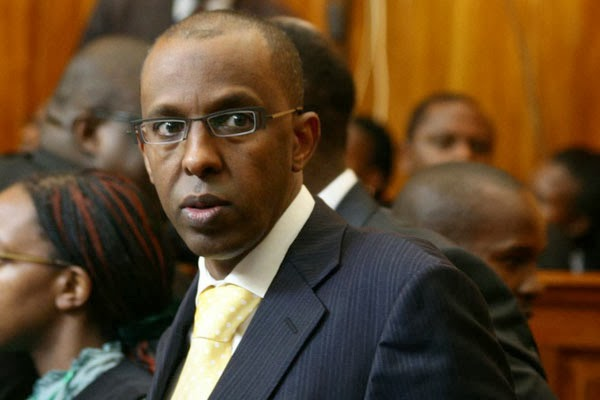 DP Ruto's blogger lawyer Ahmednasir twitter account restricted, blow to tanga tanga
