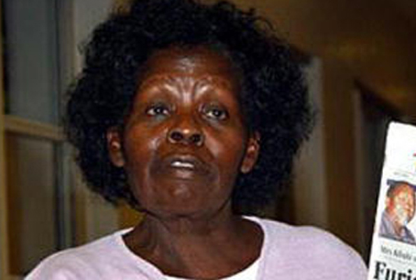 LUCY KIBAKI is Dead Again, sad